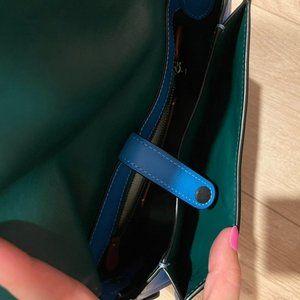 Coach Saddle 23 'azure' crossbody purse